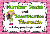 Number Sense and Identification Resources / Flash Cards an