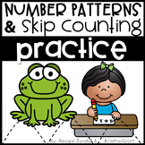 Number Patterns and Skip Counting Practice First Grade