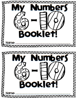 Number Sense for 6-10 {Aligned with CCSS & TEKS}