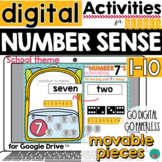 Number Sense for DISTANCE LEARNING
