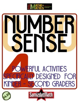Number Sense for Grades K - 2: Spatial Reasoning On The Number Line