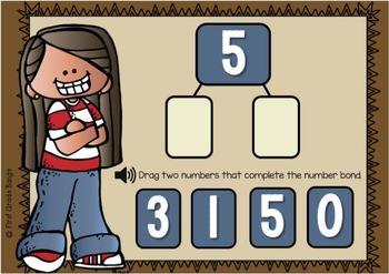 Number Sense for the Number 5 Boom Cards Digital Resource