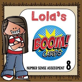 Number Sense for the Number 8 Boom Cards Digital Resource