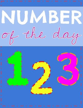 Number Sense l Number of the day 0-30 l Daily Morning Work