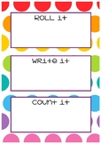 Number Sense practice boards 1
