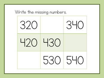 Number Sense to 1,000 Review - Grade 2 enVisions Unit 13 Review