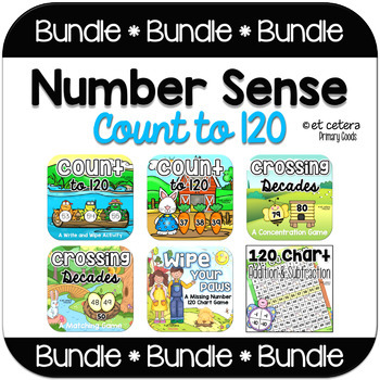 Number Sense to 120 Bundle