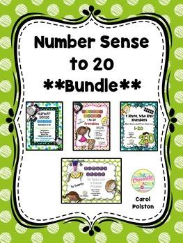 Number Sense to 20 **BUNDLE**