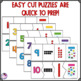 Number Sense to 20 Easy Cut Puzzles