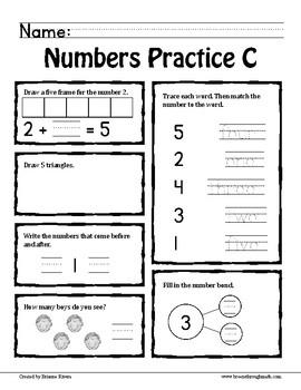 Number Sense to 5