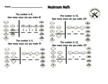Number Sense with Mushroom Math