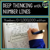 Number Sense with Number Lines! Deepening Place Value Understanding to 1,000,000