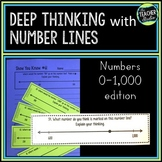 Number Sense with Number Lines!  Deepening Place Value Understanding to 1,000