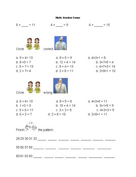 Number Sense with Sign Language Support