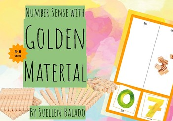 Number Sense with the golden material Montessori