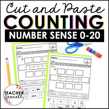 Number Sense 0-20 Worksheets