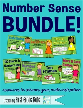 Number Sense Activities & Resources BUNDLE