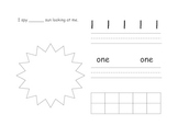 Number Sense/Writing Book - Counting Book