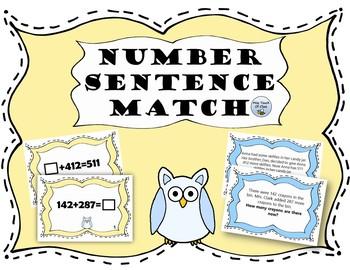 Number Sentence Match