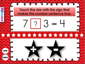 Number Sentence Ninjas Smart Board Game