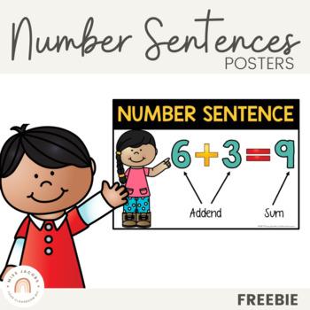 Number Sentence Poster