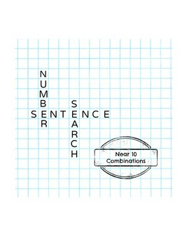 Number Sentence Search: Near 10 Combinations
