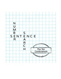 Number Sentence Search: Plus 10