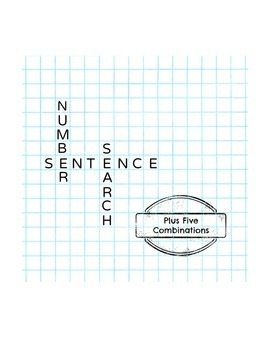 Number Sentence Search: Plus 5