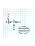 Number Sentence Search: Tens Combination (Make 10)
