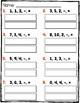 Number Sentences Subtraction