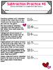 Number Sentences for 1st Grade: Valentine