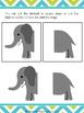Elephant Math Number Sequence 1-120 (PreK / TK-1st Grade)