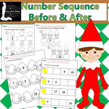 Number Sequence Before & After Winter Edition