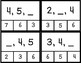 Number Sequence Clip Cards