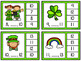 Number Sequence Clip Cards: St. Patrick's Day (Numbers 1-20)
