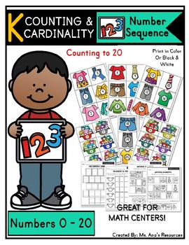 Number Sequence: Counting to 20