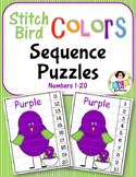 Number Sequence ● Number Puzzles ● Numbers 1-20 ● Math Cen