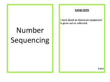 Number Sequence SFFs