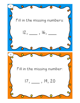 Number Sequence Shuffle