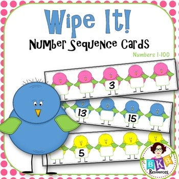 Number Sequencing ● Missing Numbers ● Write and Wipe ● Numbers 1-100