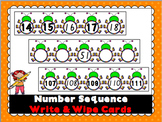 Number Sequence Write & Wipe Cards