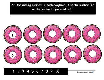 Number Sequencing 1-10