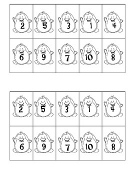 Number Sequencing 1-10 with Animals A-Z