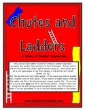 Number Sequencing Activity (Chutes and Ladders)