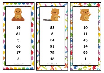 Number Sequencing Cards