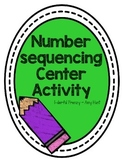 Number Sequencing Center Activity