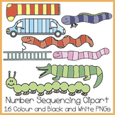 Number Sequencing Clipart