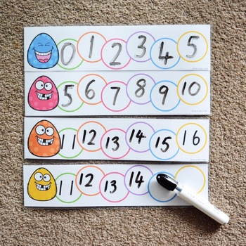 Number Sequencing - Counting Forwards