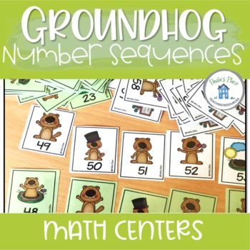 Number Sequencing (Groundhog Day Theme)