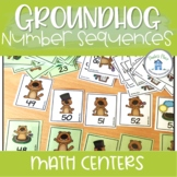 Number Sequencing Groundhog Day Theme